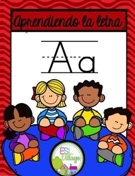Aprendiendo  la letra A