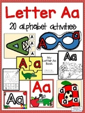 Letter Aa Alphabet Activities (Games, Printables, and Craftivities)