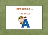 Letter Aa - Alphabet Lesson – Power Point  – Teaching the Letter Aa - Freebie
