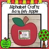 Letter Aa Craft : Alphabet Crafts : Apple Craft : Letter Crafts