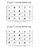 Letter Aa *Editable* Alphabet Emergent Reader