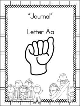 Letter Aa Journal
