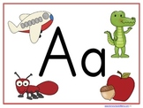 Letter Aa Learning Pack