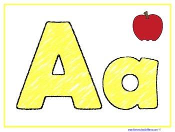 Letter Aa Learning Pack For PreK Kids