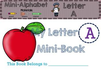 Letter Aa Mini-Book
