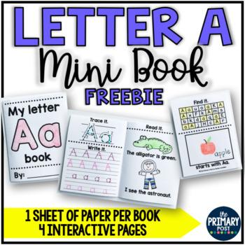 FREE Letter Aa Mini Book