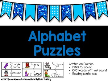 Letter Aa Puzzles