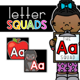 Letter Aa Squad: DAILY Letter of the Week Digital Alphabet
