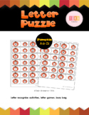 Fall Literacy Activity: Letter Puzzle {by Teka Kinderland}