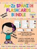 Aa-Zz Spanish Vocabulary Flashcard Bundle