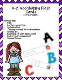 Letter Aa-Zz Vocabulary Flashcard Bundle