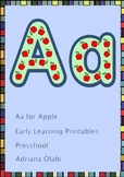 Letter Aa for Apples Printables