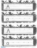Letter Aa handwriting