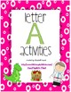 Letter Activities Bundle A-Z