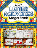 Letter Activities Mega Pack