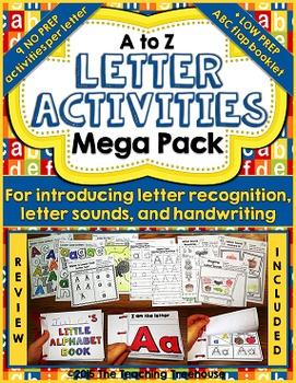 Letter Activities Mega Pack