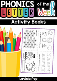 Alphabet Letter Activity Books