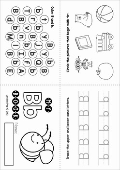 Original on letter b worksheets for preschool
