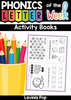 Alphabet Letter Activity Books