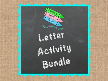 Letter Activity Bundle