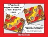 Letter / Alphabet & Number Quarter Page Cards - Turkey - T