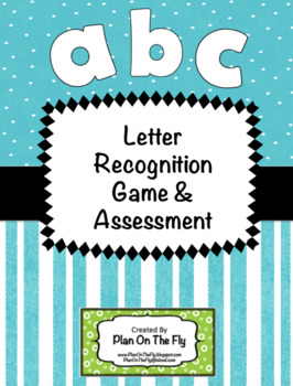 Letter And Sound Recognition Game or Assessment~Full