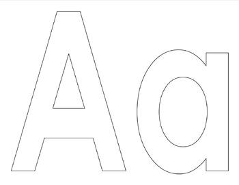 Alphabet Letter Art Activities