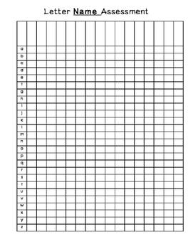 Letter Assessment