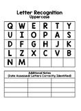 Letter Assessment- Data Folder