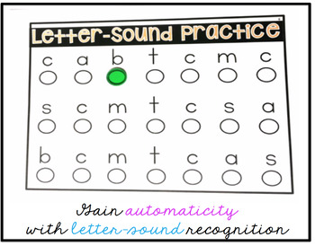 Letter Automaticity Drills