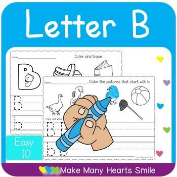 Easy 10: Letter B   MMHS25