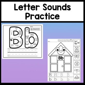 Letter B Activities {Letter B Book and 5 Letter B Worksheets!}