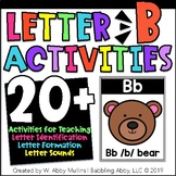 Letter B Activities | Alphabet | Letter Recognition, Sounds, and Formation