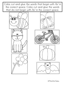 Letter B Activities and Printables