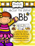 Letter B Activities for Pre-Kindergarten and Kindergarten