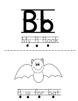 Letter B Activity Bundle - 2 Books with 5 Corresponding Worksheets