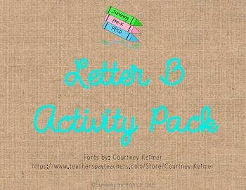 Letter B Activity Pack