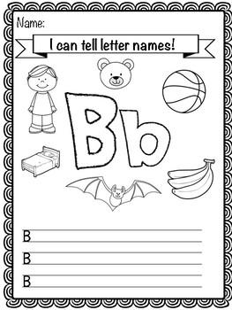 Letter 'B' Activity Pack