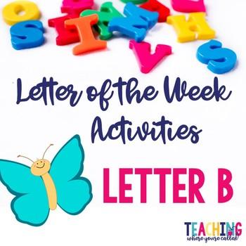 Letter Bb Activity Pack