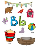 Letter B Activity Packet