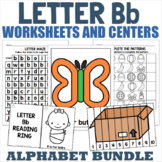 Letter B Activity and Center Packet