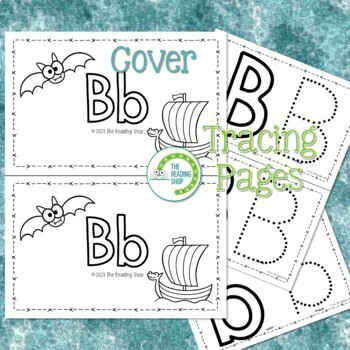 Letter B Alphabet Book - Helps Students Learn Letters and Sounds - ABC Book