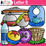 Letter B Alphabet Clip Art | Teach Phonics, Recognition, and Identification