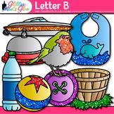 Letter B Alphabet Clip Art {Teach Phonics, Recognition, an