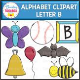 Letter B Alphabet Clipart  (Beginning Sounds)