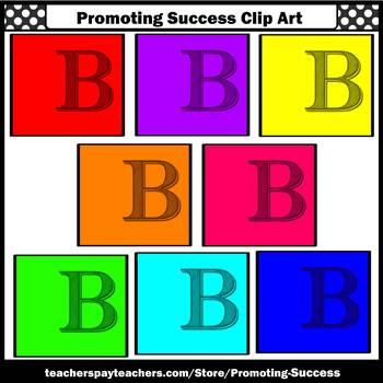Letter B Clipart, Alphabet Clip Art, Letter Sounds SPS