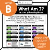 Letter B - Alphabet Digital Beginning Sounds Mystery Guess