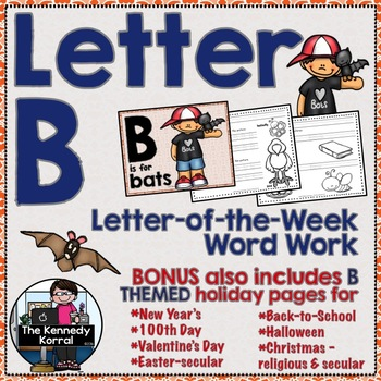 Letter of the Week: Letter B