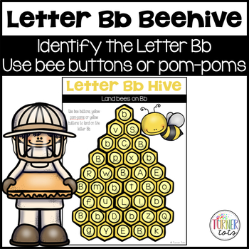 Letter B Beehive