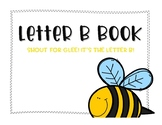 Letter B Book: Handwriting Practice